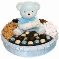 Baby Boy Ceramic Teddy Bear Gift