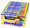 Mentos Pineapple Candy Rolls - 40CT Case