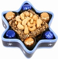 Chanukah Ceramic Star of David Gift
