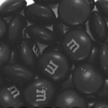 Black M&M's Chocolate Candy