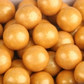 Gold Shimmer Pearl Gumballs