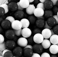 Black & White Sixlets