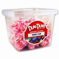 Bubble Gum Dum Dum Pops - 1 LB Tub