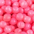 Pink Fruit Sours Candy Balls - Grapefruit