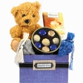Thank You Teddy Bear Gift Basket