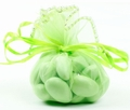 Light Green Organza Bags - 12CT Bag