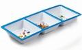 Jelly Belly Blue 3-Section Melamine Tray
