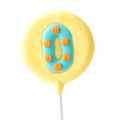 '0' Number Hard Candy Lollipop
