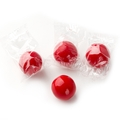 Wrapped Red Gumballs - 3 LB Bag