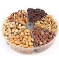 6-Section Assorted Nut Platter