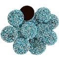 Blue & White Dark Chocolate Nonpareils