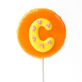 'C' Letter Hard Candy Lollipop