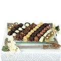Decorative Challah Board w/Knife Gift Set