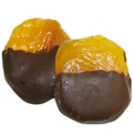 Dark Chocolate Dipped Peaches