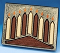 Milk Chocolate Chanukah Menorah Gift Box