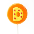 'D' Letter Hard Candy Lollipop