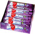 AirHeads Grape Taffy Candy Bars - 36CT Box