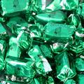 Green Foiled Zaza Chews - Sour Apple