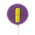 'I' Letter Hard Candy Lollipop