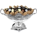 Silver Plated Pedestal Fruit Bowl