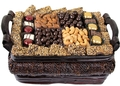 Gourmet Kosher Signature Wicker Basket Gift - Med