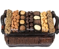 Hanukkah Gourmet Signature Wicker Basket - Sm