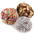 Passover Assorted Soft Rum Balls - 12 Pc.
