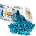 Navy Blue Candy Coated Popcorn - Blueberry