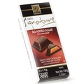 No Sugar Added Dark Chocolate Bar with Praline