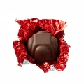 Non-Dairy Red Foiled Diamond Chocolate Truffle