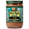 Organic Smooth & Creamy lightly toasted Almond Butter