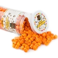 Orange Candy Coated Popcorn - Orange