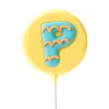 'P' Letter Hard Candy Lollipop