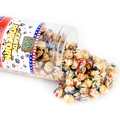 Patriotic White Chocolate Drizzled Caramel Popcorn - 11 oz Tub