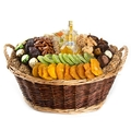 Rosh Hashanah Wicker Gift Basket