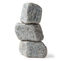 Silver Chocolate Rocks Boulders - 5 LB Bag
