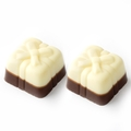 Non-Dairy Two Tone Chocolate Gift Boxes