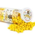 Yellow Candy Coated Popcorn - Lemon