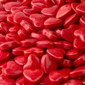 Red Mini Hearts Pressed Candy