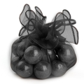 Black Organza Bags - 12CT Bag