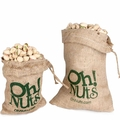 Burlap Sack Trio Set - Roasted Pistachios, Cashews & Almonds