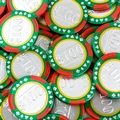 100$ Casino Chocolate Coin - 1 LB Bag