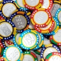 Assorted Casino Chocolate Coins