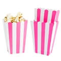 Dark Pink Popcorn Box - 5CT