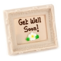 Chocolate Frame - Get Well Soon