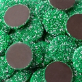 Green & White Dark Chocolate Nonpareils