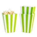 Green Popcorn Box - 5CT