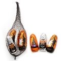 Halloween Ghosts and Goblins Mesh Bags - 24 Ct Case