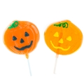 Halloween Pumpkin Lollipops - 4 Pack