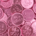 'Its a Girl' Chocolate Coins - 1 LB Bag